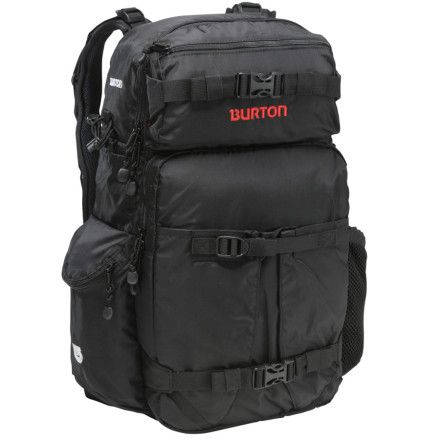 The Burton Zoom, hands down the best camera bag.  I like it so much, I bought another as a backup.