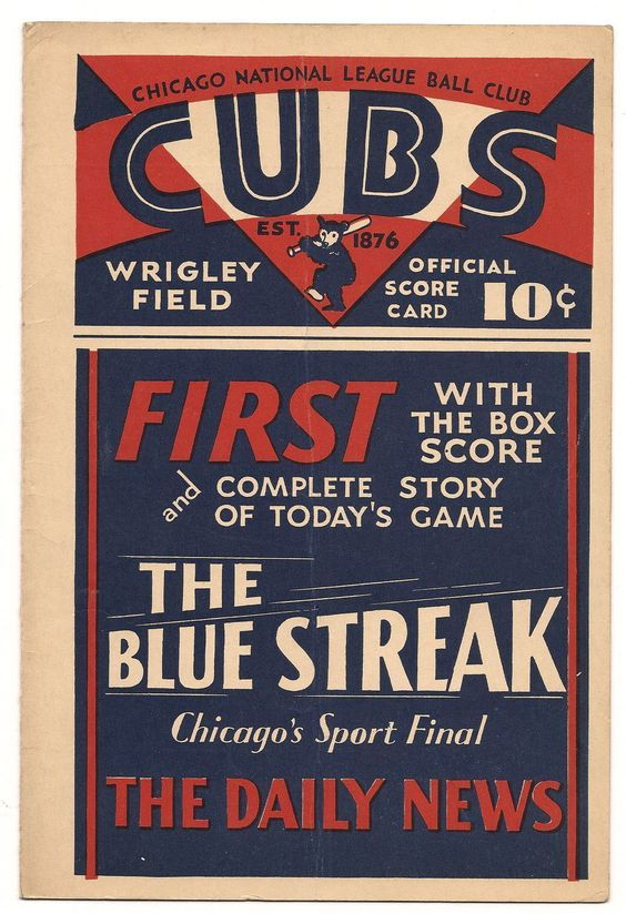1930 Chicago Cubs