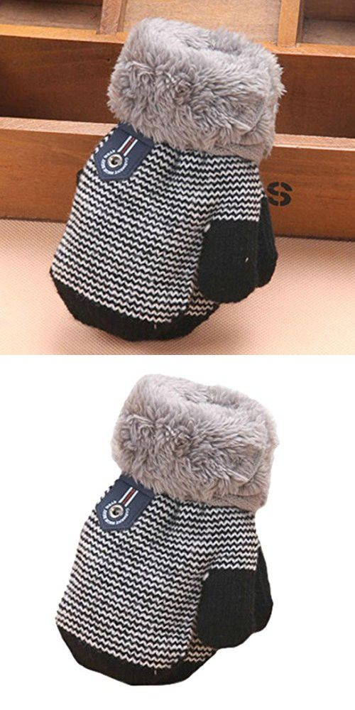 97802ed3357a Iusun Cute Thicken Hot Infant Baby Girls Boys Of Winter Warm Gloves ...