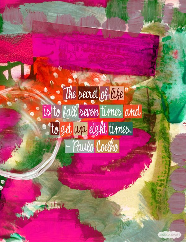 The secret of life... {a post on The Declaration of You blog by Jessica Swift }