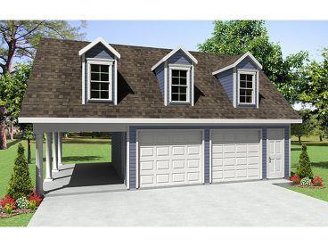 Plan 001G-0003 - Garage Plans and Garage Blue Prints from The Garage Plan Shop
