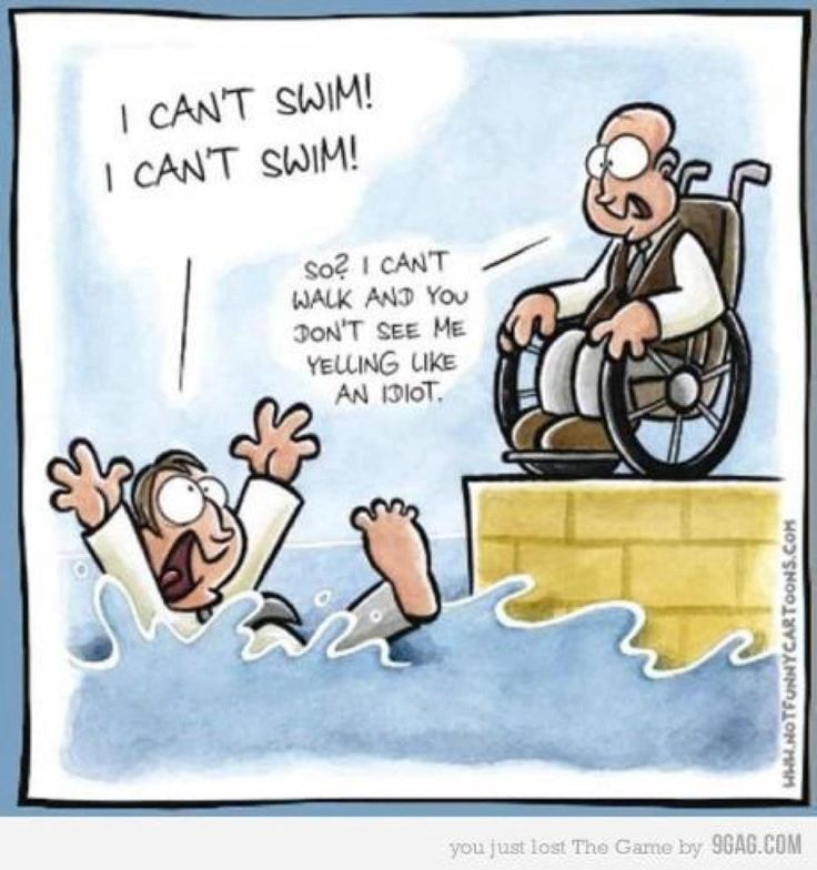 wheelchair humor