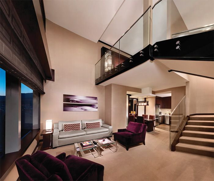 Vdara Two Bedroom Loft Pretty Vegas Hotel Suites Pinterest Shades Lounges And Bedrooms