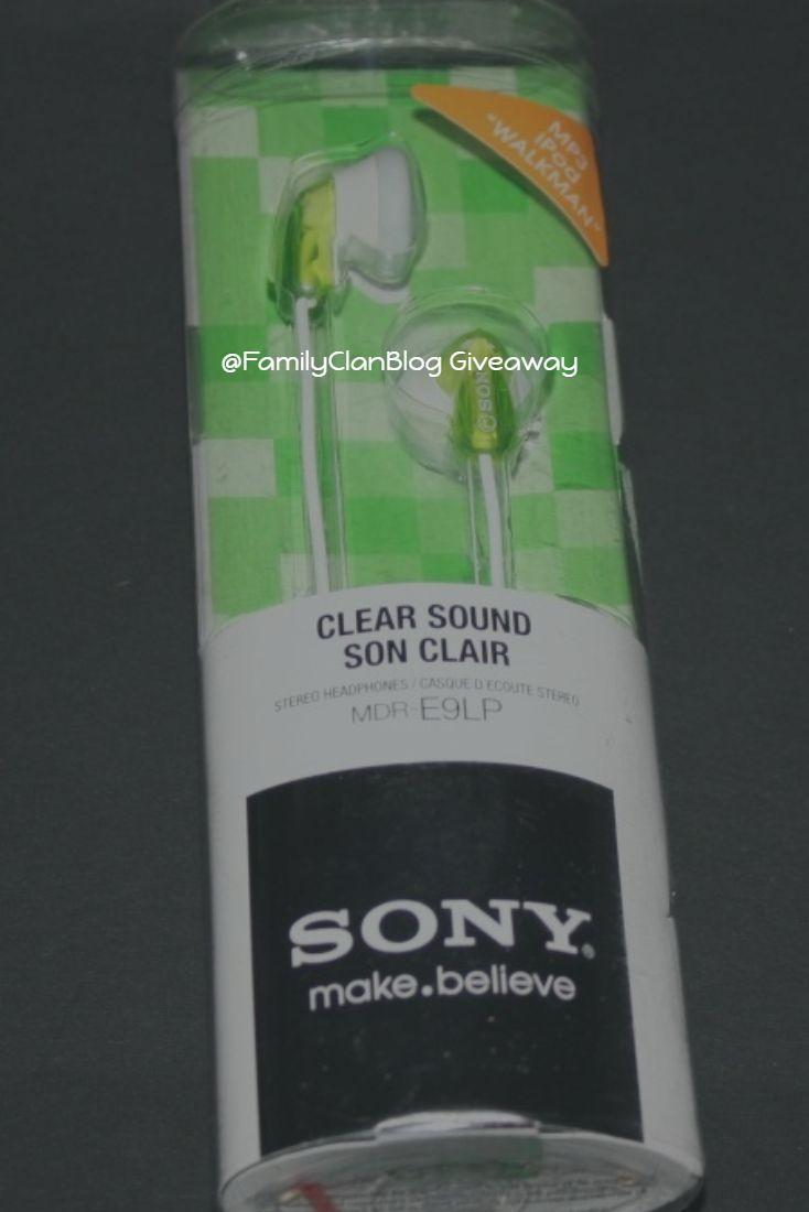 Win Sony Headphones @FamilyClanBlog Giveaway