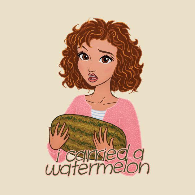Awesome 'I+Carried+a+Watermelon' design on TeePublic!