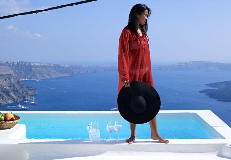 Views that can simply take your breath away..! Alexander Villas in Santorini -->> www.alexander-villas.com