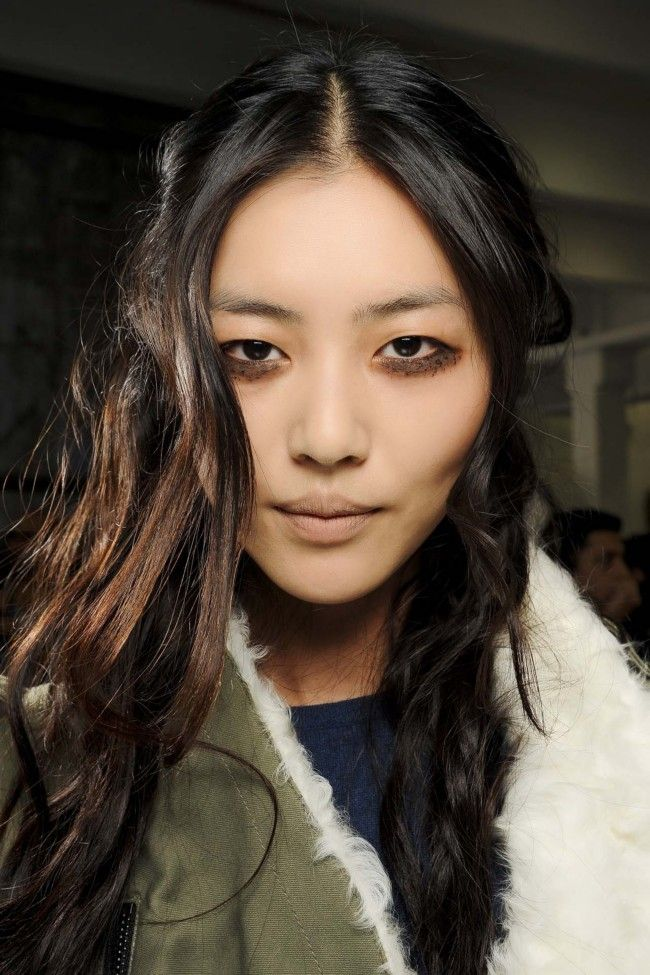 Almost-black brown with subtle, ashy balayage at Rodarte.  | 23 not-so-boring shades of brunette gallery - Vogue Australia