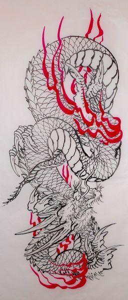 sketch_dragon_by STEWART ROBSON