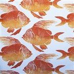Fish Futon Cover |Tropical Futon Cover |