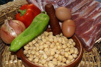 Garbanzos con Costilla   Recetas de Cocina Casera - Recetas fáciles y sencillas