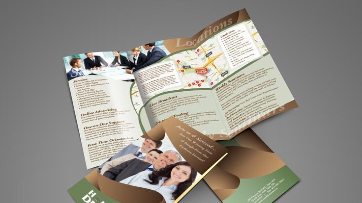 Homelife Dreams Brokerage - 3-fold Brochure Design