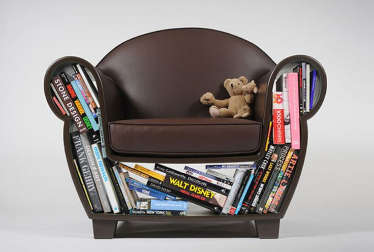 Wicked chair design that saves space and is a bit of fun for the living room.