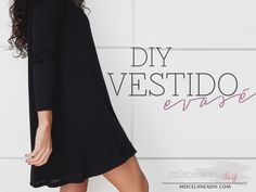 Blog en español son explicación paso a paso y fotos para hacer este lindo vestido y muchos estilos más. *** DIY sewing | Vestido con vuelo | Swing Dress