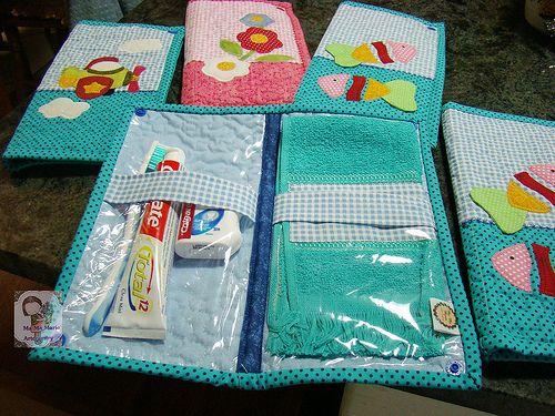 Estojo kit higiene bucal
