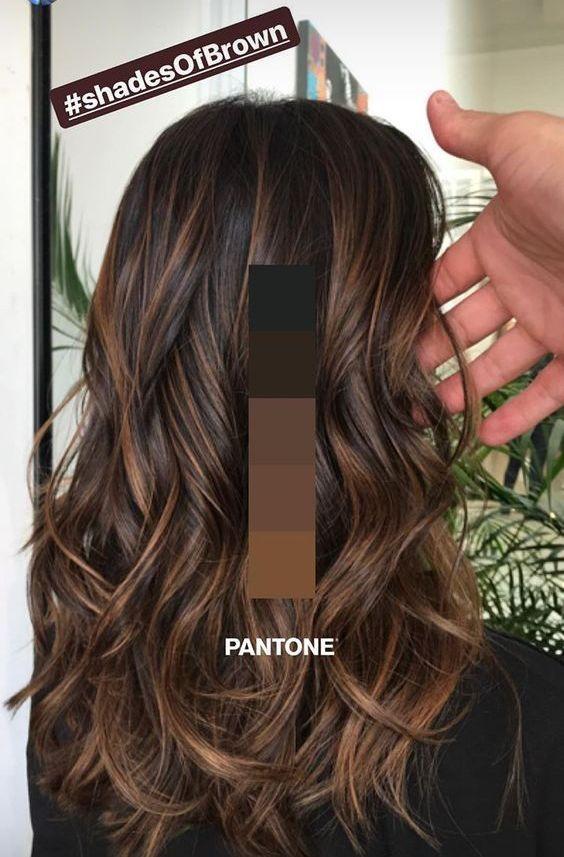 Nouvelles idées de coiffure et de couleurs pour 2019 – Just Trendy Girls: # idées de couleurs #frisur #g …   – Haare&Frisuren ♀️