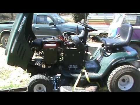 Craftsman Mower Repair-part 2 - YouTube