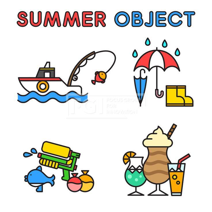 ILL195, 프리진, 일러스트, 여름, 계절, 시즌, 아이콘, 오브젝트, 단순, 심플, 더위, 무더위, 한여름, 모양, 세트, 묶음, 라인, 선, 음식, 시원한, 아이스크림, 간식, 디저트, 군것질, 주스, 음료, 레몬, 컵, 잔, 탄산, 소다, 배, 보트, 선박, 취미, 낚시, 물고기, 생선, 동물, 어류, 생물, 붕어, 여행, 야외, 항해, 바다, 해변, 해변가, 휴식, 휴가, 바캉스, 휴양지, 여행지, 우산, 장마, 날씨, 비, 빗방울, 장화, 물총, 도구, 풍선, 물방울, 방울, 게임, 놀이, 교통, #유토이미지