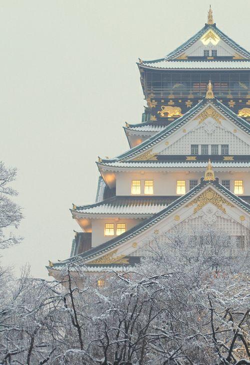 White Light (Osaka Castle, Japan 大阪城) by Matt Janssen