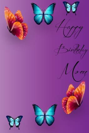 HAPPY BIRTHDAY LETTER FOR MOM ON DARK ORCHID BACKGROUND FULLY CUSTOMIZED PRODUCTS FREE CUSTOMIZATION LAYOUTS HUGE RANGE OF CHANGE COLOUR