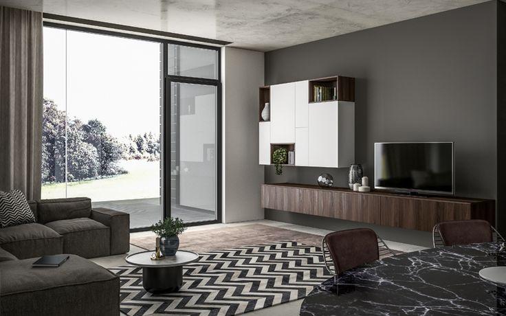 Progetto SMART nr.3 - Living #home #living #soggiorno #design #casa #progetto #arredamento