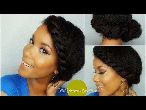 Natural Hair : Twist Style - YouTube