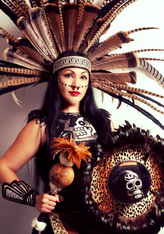 Beautiful Azteca Woman