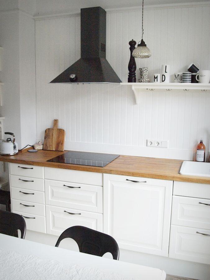 41 best #Wandvertäfelung #Landhausstil #Wandverkleidung #East ... | {Küchenzeilen landhausstil 24}