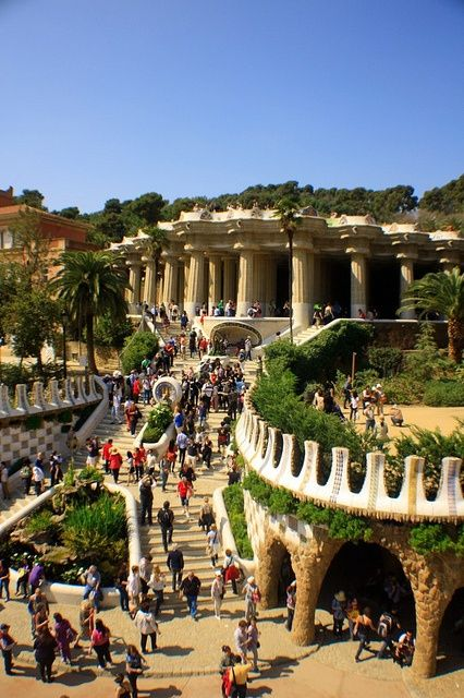 Guell Park in Barcelona, Spain | A1 Pictures