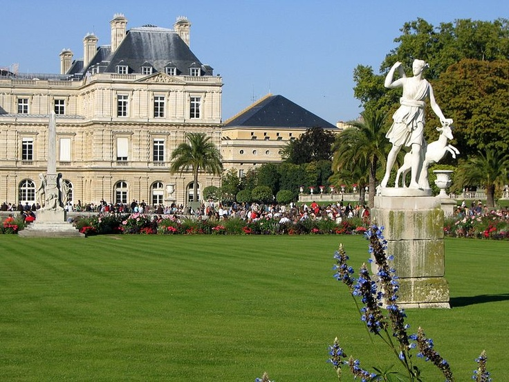 The Jardin du Luxembourg, or the Luxembourg Gardens, is the second largest public park in Paris (22.5 hectares) located in the 6th arrondissement of Paris, France. The park is the garden of the French Senate, which is itself housed in the Luxembourg Palace.
