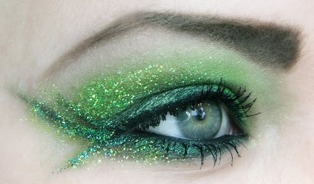Green Fairy eye makeup pics by Jangsara