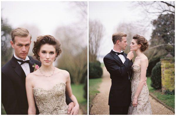 Вдохновение - это воздух, которым мы дышим - Розовый и золотой от Elisa B. Photography и Fete Studio