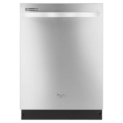 Whirlpool Gold Series Top Control Dishwasher in Monochromatic Stainless Steel - WDT720PADM - The Home Depot