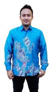 Batik Sunwash Pria Modern Semi Sutra Motif Merak BSP 7 SMS ke 082134923704