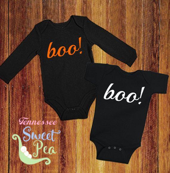 Halloween, Boo, 1st Halloween, Halloween Costume, Baby Halloween outfit, First Halloween, Ghost, Baby Shower Gift, Infant Halloween Bodysuit by TennesseeSweetPea on Etsy