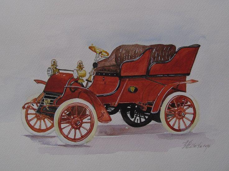 Stare autko.W. Podlecka