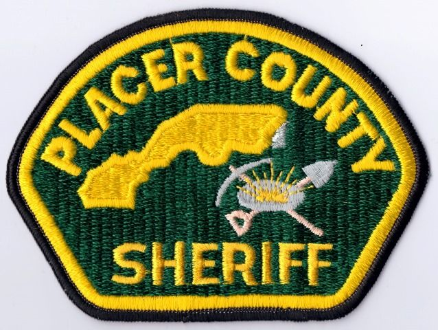 Placer county Sheriff Calif