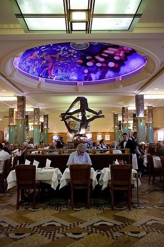 Famous restaurant La Coupole, 102 boulevard de Montparnasse - Paris 6.  Love it! Want to be there now...
