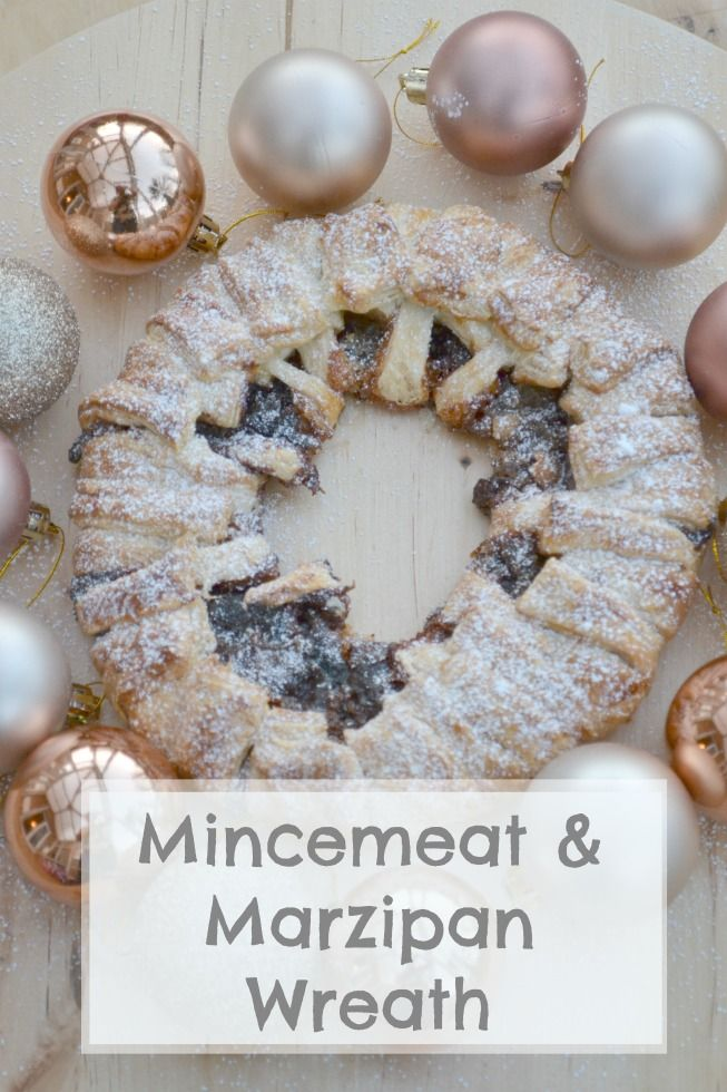 Mincemeat & Marzipan Wreath