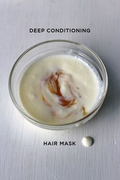 DIY Deep Conditioning Hair Mask