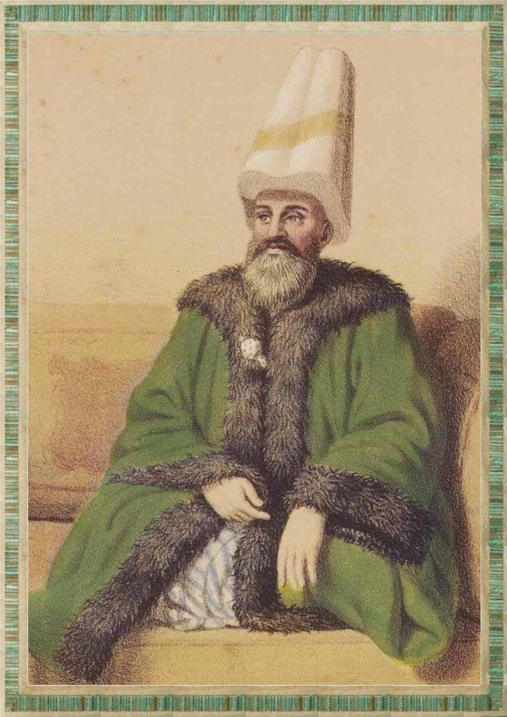 Ottoman Grand Admiral, 1864 (Osmanlı Kapudan Paşa, 1864) #OttomanEmpire