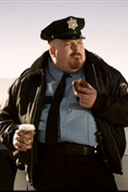 Image result for fat cop donut meme