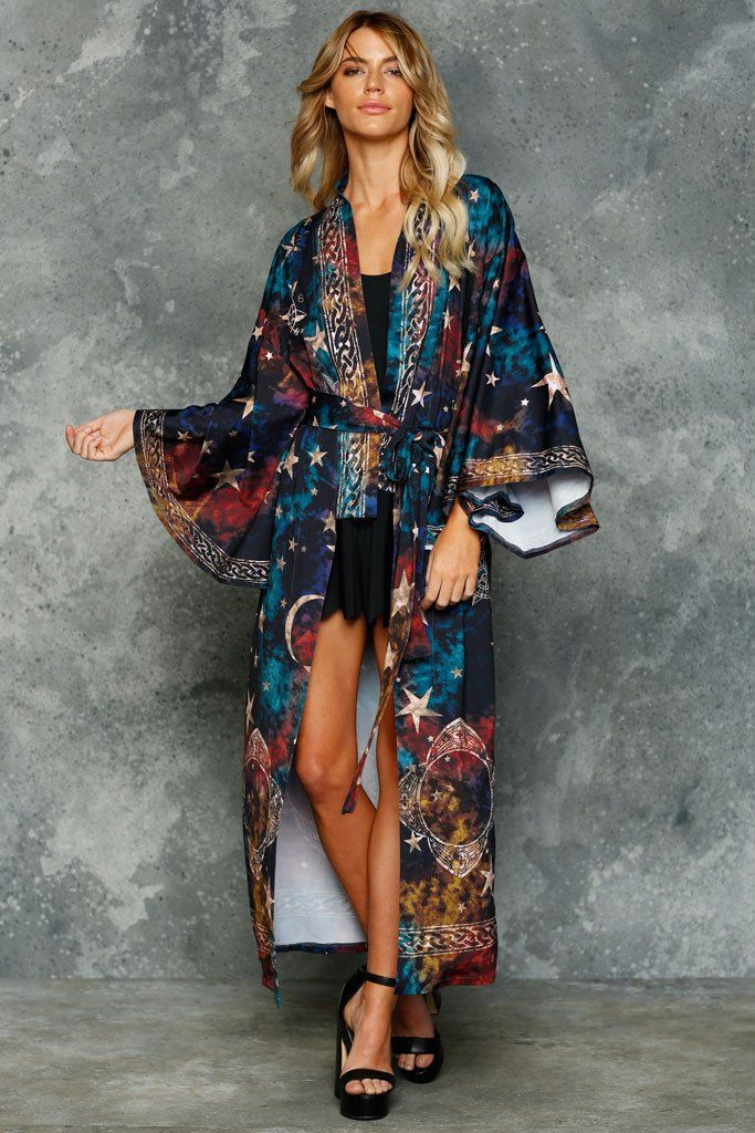 Invisibility Cloak Swan Kimono - LIMITED