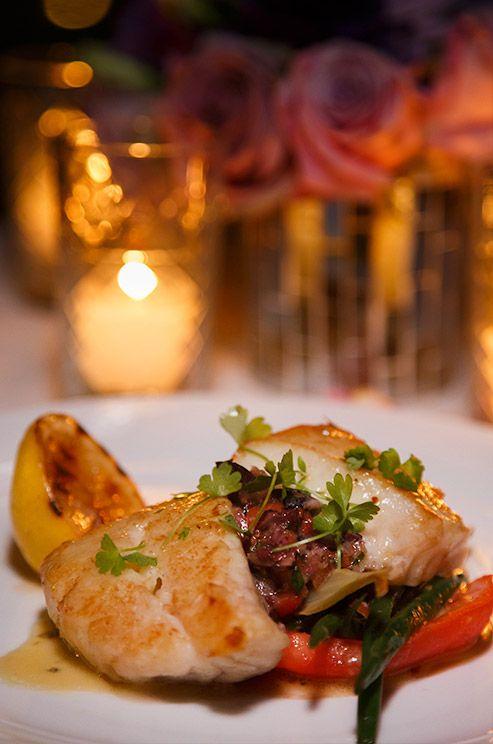 Wedding Entree Idea Roasted Nassau Grouper A Dish Of Fennel Confit Fingerling Potato
