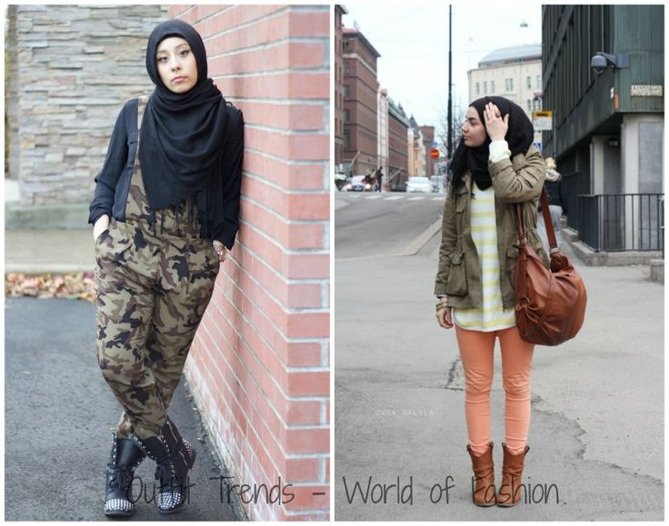 Casual Hijab Style