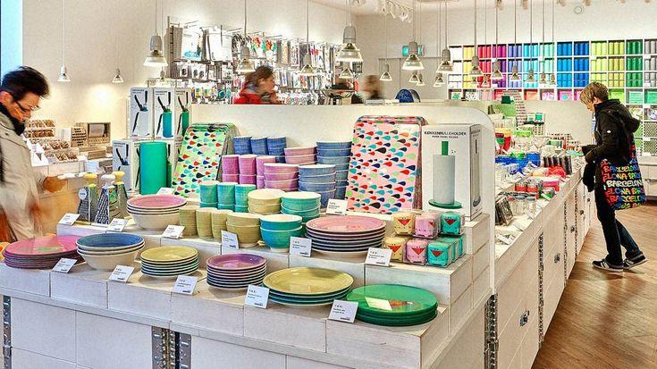 Boutique Tiger Lille présentoir art de la table