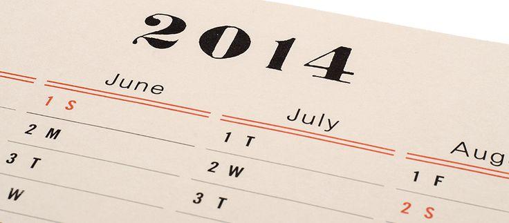 Postalco Wall Calendar 2014