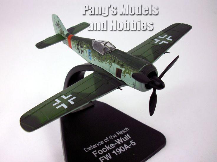 Focke-Wulf Fw-190 (Fw-190A) 1/72 Scale Diecast Metal Model by Oxford