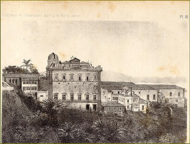 L'Observatoire Impérial de Rio de Janeiro