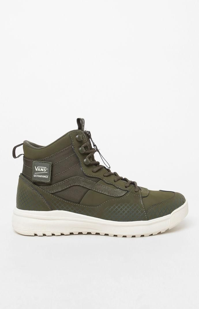 Vans UltraRange Hi DX MTE Olive Shoes  a1b48be3c