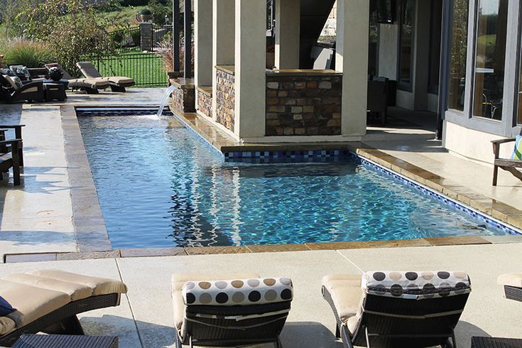 L Shaped Pools Google Search Pool Outdoor Space